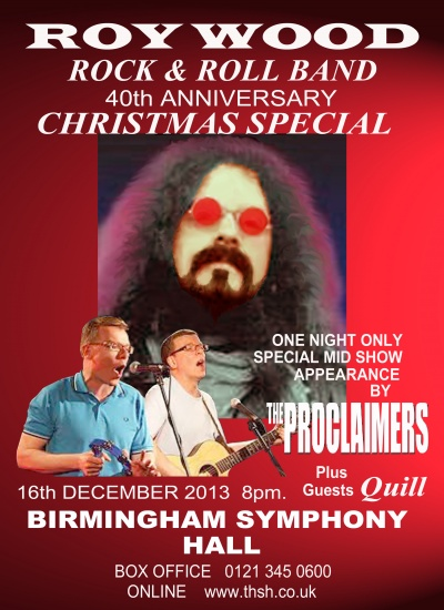 ROY & PROCLAIMERS POSTER